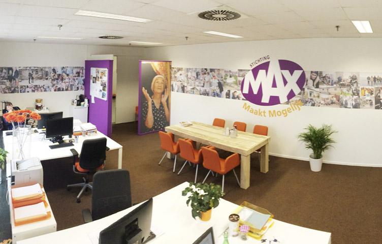 interieur ontwerp omroep max reclamebureau holland