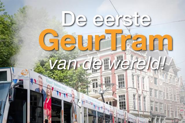 De eerste Geurtram van de wereld - Heel Holland Bakt