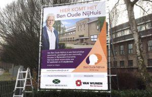 ben oude nijhuis bord - reclamebureau holland
