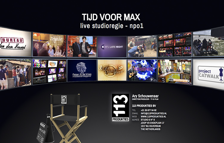 113 produkties website logo reclamebureau holland