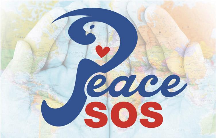 logo ontwerp peace sos