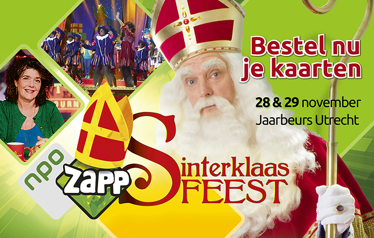 ZAPP sinterklaas feest Reclamebureau Holland