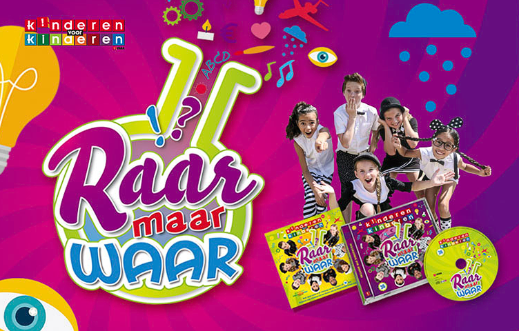 Raar Maar Waar Kinderen-CD TV Reclamebureau Holland