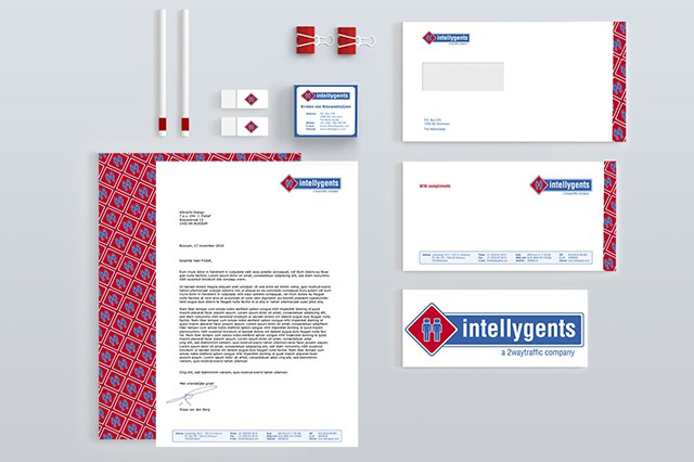 Huisstijl Intellygents - Reclamebureau Holland