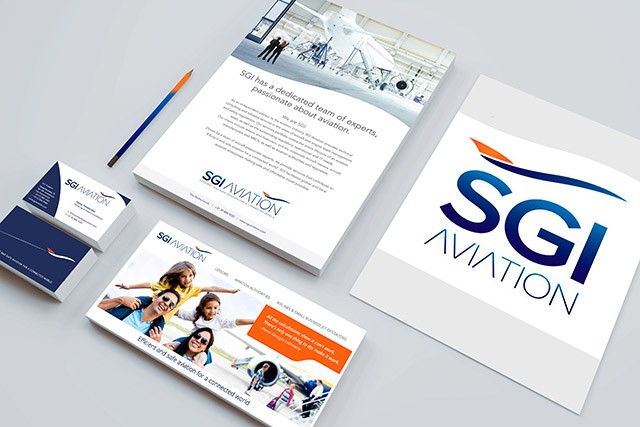 Huisstijl SGI Aviation - Reclamebureau Holland