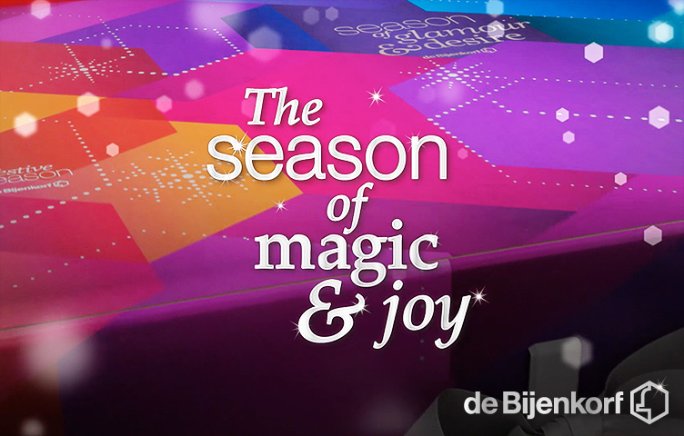 kerst animatie bijenkorf reclamebureau holland